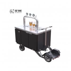 Buy cheap Air Cooled Electric Scooter Beer Bike Cart 300kg Load product