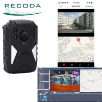 Buy cheap Night Vision 4G Body Worn Video Camera GPS Tracking With Wide Angle 140 Degree product