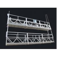Aluminum Alloy Double Deck Suspended Rope Platform And Suspended Access Equipment