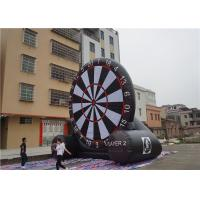 Buy cheap Kids Inflatable Sports Arena , Inflatable Jousting Arena Dart Board Large Play Area product