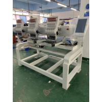 Buy cheap 2 Heads computerized embroidery machine suitable for logo embroidery T-shirt cap and jacket from wholesalers