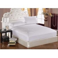 Buy quality White Knit Polyurethane Mattress Cover Waterproof Hypoallergenic at wholesale prices