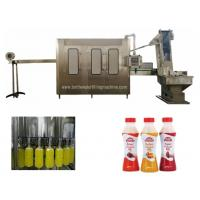 Buy cheap 18 Filling Heads 2000BPH Litchi Packaging Juice Bottling Equipment product