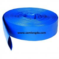 "Buy cheap Agriculture PVC Layflat Hose for Irrigation & Water (3/4""-12""), with Camlock Coupling, blue colour product"