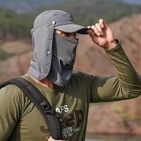Buy cheap 58cm Outdoor Sport Hats With Mask Ear Protection Fleece Cap Washable product