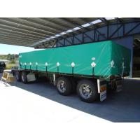Buy quality Flexible Waterproof PVC Truck Cover Tarpaulin , Heavy Duty Canvas Tarp for Bags at wholesale prices