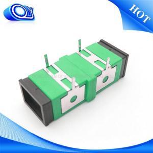 Buy cheap Single mode SC UPC APC  Fiber Optic Adapter / fiber optic coupler product