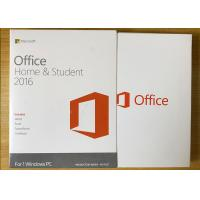 Buy cheap Sealed Box Ms Office 2016 Home Product Key , Microsoft 2016 License Key For 1 PC product