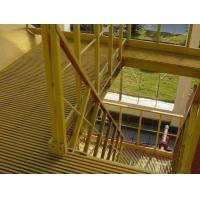 Buy cheap High Impact FRP Grating Stair Treads In Petrochemical Industry Textile Printing product