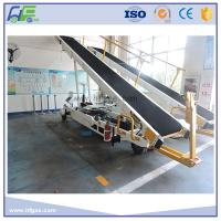 Buy cheap Towable Baggage Conveyor Belt Loader , 700 - 750 Mm Width , Easy Operation product