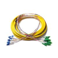 Buy cheap 12 Fiber distribution break out LC/APC to LC/UPC preterminated cable Simplex For Access Networks from wholesalers