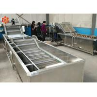 Buy cheap Industrial Vegetable Washing Equipment 800 Kg/H Capacity Save Water High Efficiency product