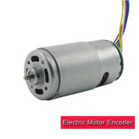 Buy cheap Durable Electric Motor Encoder High Torque 12v 24v RS 595 DC Motor With Encoder from wholesalers