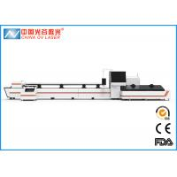 Buy cheap 1KW Fiber Stainless Steel Pipe Laser Cutting Machine with Cypcut Control System product