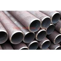 Buy cheap 1/2 Inch - 16 Inch ERW Carbon Steel Pipe For Construction Building , Galvanized Piping product