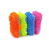 Buy cheap Colorful Microfiber Chenille Car Wash Sponge Car Washing Tool For Furniture product