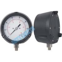 Buy cheap 115mm Solid Front Pressure Gauge stainless steel / accurate pressure gauge product