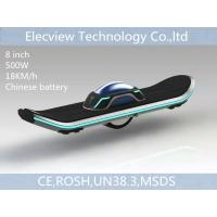 Smart 8 inch blue one wheels hoverboard electronic skateboard Chinese battery LED