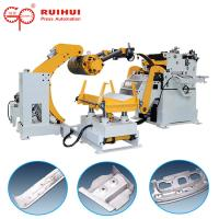 Buy cheap Automatic Coil Sheet Decoiler Straightener Feeder for Electric Hydraulic Hole Puncher product