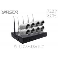 Buy cheap Professional 1.0MP 8CH NVR Kit 720P HD Indoor / Outdoor 8 Channel NVR Security System from wholesalers