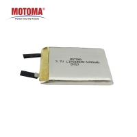 Buy cheap NCM 3.7 Volt 1200mah Rechargeable Lithium Battery With PCB And NTC PTC product