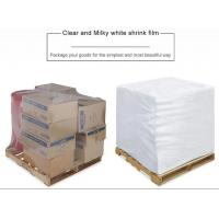 Buy cheap PE Heat Shrink Plastic Film Rolls For Packaging With Customized Size And Colours from wholesalers
