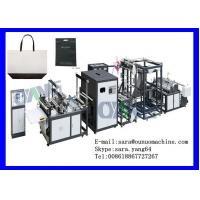 Buy quality Touch Screen Ultrasonic Non Woven Bag Making Machine For Box Bag at wholesale prices