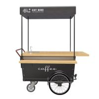 Buy cheap Manual Control 25° Climbing Breakfast Food Cart For Coffee Vending 1 Year Warranty product