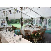 Buy cheap Wind Resistant Outdoor Luxury Wedding Tents Marquee Aluminum Profile product