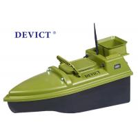 Green  RC Fishing Bait Boat DEVC-104 7.4V / 6A lithium battery AC110-240V