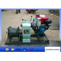 Buy cheap Small 5 Ton Reversing Cable Pulling Tools Winch With Water Cooled Diesel Engine product
