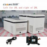 Buy cheap LCD Touch Screen Mini Electric Cool Box , Mini Portable Cooler For Car product