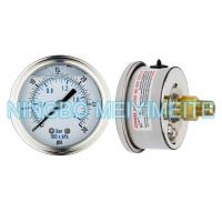 Buy cheap High Accuracy Glycerin Hydraulic Pressure Gauge Crimp Type With Screw In Connector product