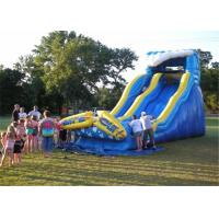 Buy cheap Customized Commercial Inflatable Slide High Temperature Resistant Prevent Fading product