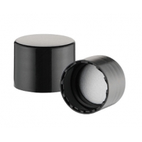 Buy cheap Smooth Aluminum 18 410 Ribbed Push Pull Cap Water Bottles product