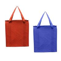 Buy cheap Insulated Grocery Non Woven Zipper Bag With Waterproof Leak Bag Handle from wholesalers