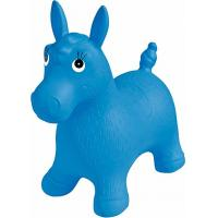 Buy cheap Blue Inflatable Jumping Horse Ride on PVC Bouncing Animal Toys For Kids product