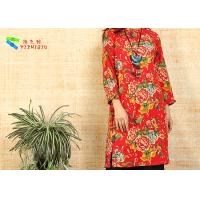 Buy cheap Red Cotton Long Sleeve Fancy Dresses product