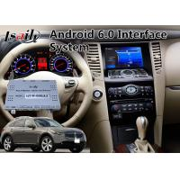 Buy cheap Android 6.0 Auto Video Interface for 2008-2012 Year Infiniti FX37 / FX50 from wholesalers