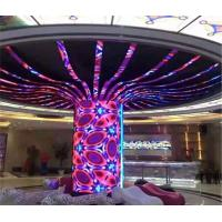 Buy cheap Indoor Slim Flexible Led Display Screen , Curved LED Screen Soft Modules from wholesalers