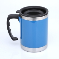 Buy cheap Double Wall LFGB 400CC Stainless Steel Insulated Mug product