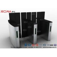 Buy cheap Access Control Turnstile Security Gates Tempered Glass Sliding Material product
