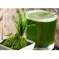 Buy cheap 100 Mesh Green Health Powder Barley Grass Juice Powder For Food Supplement product