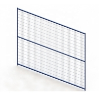 Buy cheap 6ft X 9ft Frame Tube 30mm PVC Coated Temporary Yard Fence product