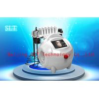 Buy quality Red Diode Lipo Laser Slimming Beauty Machine / Ultrasound Cavitation RF Cellulite Removal at wholesale prices