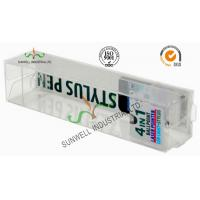 Buy cheap Electronics Ballpoint Plastic Packaging Boxes , Clear Plastic Display Boxes product