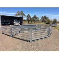 Buy cheap Australia Standard Corral Fence Panels , Horse Corral Fencing For Livestock product