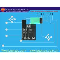 Buy cheap Flat Button Metal Dome Membrane Switch waterproof With Clear LCD Window product