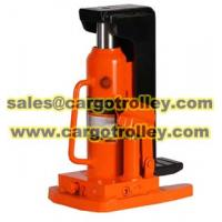 Buy quality Hydraulic jack manual instruction at wholesale prices