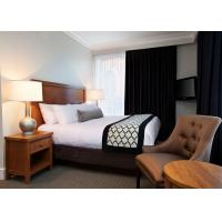 Buy cheap Classic 3 Star Modern Hotel Bedroom Furniture / Budget Hotel Furniture product